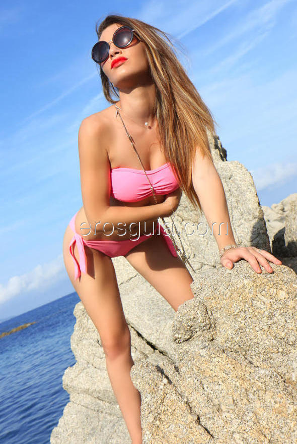 She has a golden hair, curves that have no end, firm natural breasts you'll...