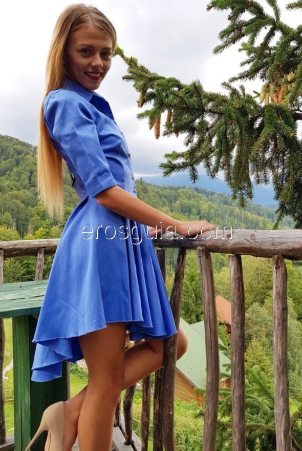 Hola, mi nombre es Anastasia, una escort universitaria y modelo publicitaria