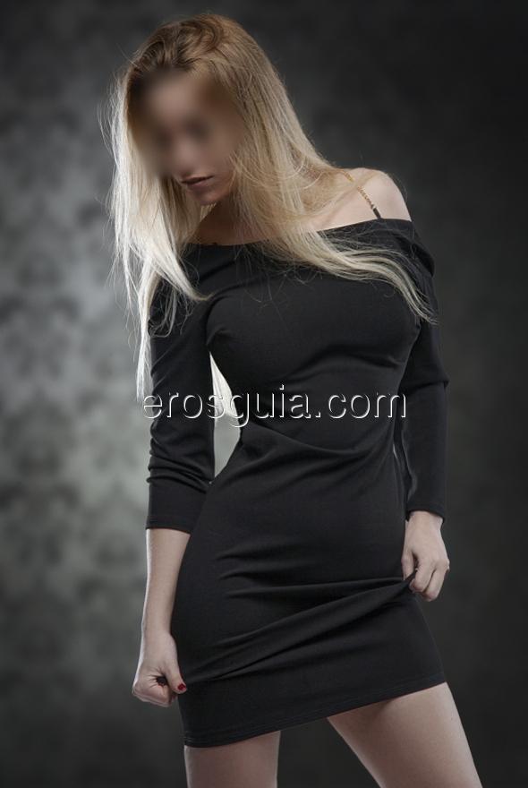 Soy una chica elegante, de sensuales curvas y piel sedosa